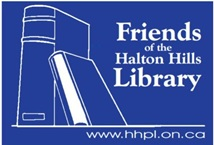 Friends of the Halton Hills Library logo